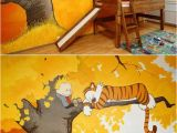 Calvin and Hobbes Mural Calvin & Hobbes Treehouse Bedroom who Wouldn T Want that