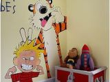 Calvin and Hobbes Nursery Mural 721 Best Murals Images In 2019