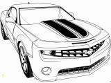 Camaro Coloring Pages for Kids Bumblebee Car Coloring Pages