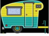 Camper Trailer Coloring Pages Mighty Machines Coloring Pages Vintage Clipart Camper Trailer