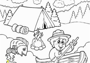 Camping Lantern Coloring Page Camping Coloring Page for the Kids Camp is Ing