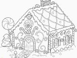 Candy Coloring Pages for Gingerbread House Gingerbread Man Coloring Page Unique Gingerbread House Coloring Page