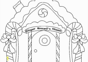 Candy Coloring Pages for Gingerbread House House Drawing Picture at Getdrawings