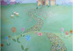Candyland Wall Mural Candyland Mural Kids Party Ideas Pinterest