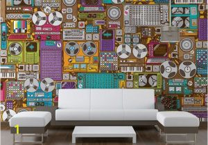 Candyland Wall Mural Feb 2013 Music themed Wall Murals One Of the Many Additional