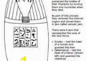 Canopic Jar Coloring Pages 83 Best Egyptian Art Images On Pinterest In 2018