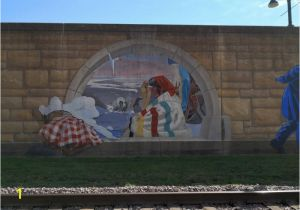 Cape Girardeau Flood Wall Mural Duck Here Es Another Roll Cahill S Chronicles