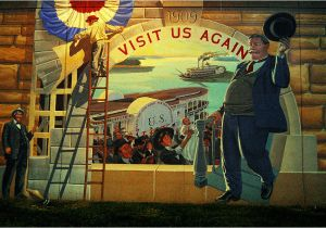 Cape Girardeau Flood Wall Mural President Taft and I Both Visit Cape Girardeau – Cape