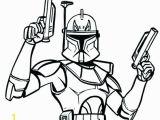 Captain Rex Clone Trooper Coloring Pages Color Free Clipart 487