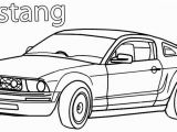 Car Coloring Pages for Kids Printable Mustang Coloring Pages for Kids