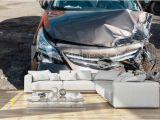 Car Crashing Through Wall Mural Broken Hood and Bumper Car after A Violent Accident Wall Mural