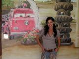 Car Murals for Walls Pixar Cars Wall Mural Kids