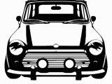Car Wall Murals Uk D183 Classic Mini Cooper Vinyl Wall Art Car Sticker Room Decal Car