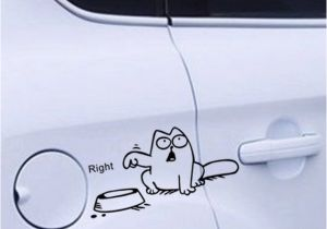 Car Window Murals Funny Cat Vinyl Car Laptop Window Tank Wall Sticker Decals Bowl Cat
