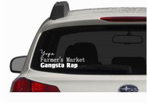 Car Window Murals Its A Pnw Thing Yoga Farmer S Market Gangsta Rap Window Decal