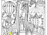 Carnival Coloring Pages Preschool A Day at the Circus Coloring Page On Behance