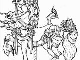 Carousel Coloring Pages Carousel Coloring Pages Via Kathy Weinand