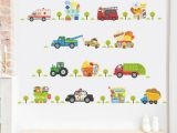 Cars Mural Wall Stickers Cartoon Car Wall Decor Decals for Boys Bedroom Kids Room Car Poster Mural Wall Stickers Customized Wall Decals Damask Wall Decals From Rudelf $36 46