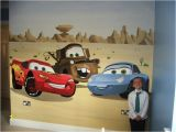 Cars Mural Wall Stickers Disney Pixar Cars Only I D Have Lighting Mater and the
