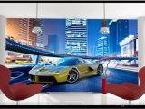 Cars themed Wall Murals High Quality Custom 3d Wallpaper Murals Wall Paper to Enjoy the Cool Sports Car Murals Tv Wallpaper Decoration Living Room Wallpaper Canada 2019
