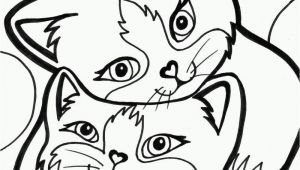 Cartoon Cat Coloring Pages Pinterest