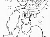 Cartoon Christmas Coloring Pages Best Coloring Christmas Pet Pages Fresh Printable Od Dog