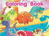 Cartoon Dinosaur Coloring Pages Dinosaur Coloring Book An Adult Coloring Book with Fun