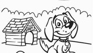 Cartoon Dog Coloring Pages Cartoon Coloring Pages