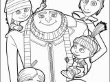 Cartoon Football Player Coloring Pages Despicable Me Gru and All the Family Coloring Page More Despicable