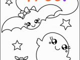 Cartoon Halloween Coloring Pages Free Halloween Coloring Page