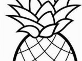 Cartoon Pineapple Coloring Page Fruits Coloring Pages Printable