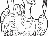 Cartoon Turkey Coloring Page Cartoon Turkey Coloring Pages