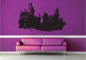 Castle Wall Mural Sticker Hogwarts Castle Harry Potter Wall Decal No 1