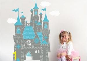 Castle Wall Mural Sticker Princess Castle Wall Decal