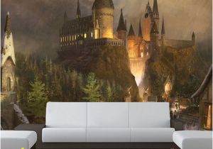 Castle Wall Mural Sticker Wizards Castle Wall Mural Sticker Wallpaper by Pulaton