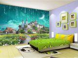 Castle Wall Mural Wallpaper Großhandel 3d Galaxy Wallpaper Fantasy Castle Wandbild Benutzerdefinierte Wallpaper Meteorschauer Kid Schlafzimmer Wohnzimmer Hotel Kaffee Esszimmer