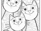 Cat and Mouse Coloring Pages Graphic Hearts Coloring Page Young Rembrandts Shop