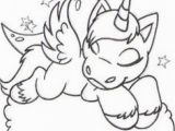 Cat Unicorn Coloring Pages Sleeping Unicorn Coloring Page