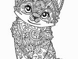 Cat Warriors Coloring Pages Coloring Catg Pages Kitten Pusheen Black and White Unicorn