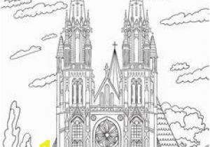 Cathedral Coloring Pages 2902 Best Coloring Pages Images On Pinterest In 2019