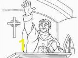 Catholic Vocations Coloring Pages St Francis Of assisi Coloring Pages for Catholic Kids