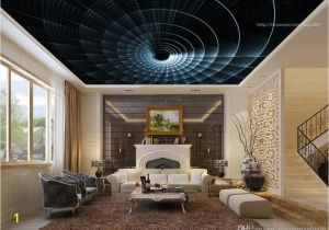 Ceiling Decals Mural Abstract Ceiling Murals Wallpaper Custom Living Room Bbedroom Spiral