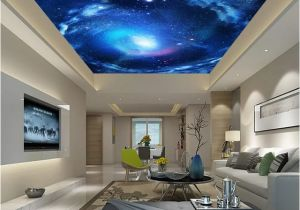 Ceiling Decals Mural Custom 3d Wallpaper for Living Room Bedroom Ceiling Decoration