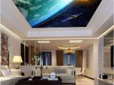 Ceiling Decals Mural Sun Earth Ourterspace Satellite Ceiling Wall Mural Wall Paper
