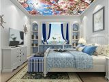 Ceiling Murals for Sale Ceiling Wall Papers 3 D Pink Flower Sky Wall Paper Murals