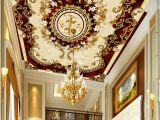 Ceiling Murals for Sale Custom European Style Ceiling Mural Wallpaper Hotel Dining