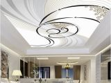 Ceiling Murals for Sale Modern Abstract Dynamic Zenith Pattern Design Ceiling Mural