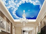Ceiling Murals Night Sky Ceiling 3d Stereo Wallpaper Starry Night Sky Wallpaper Modern