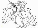 Celestia My Little Pony Coloring Pages My Little Pony Princess Celestia 01 Coloring Page