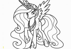 Celestia My Little Pony Coloring Pages My Little Pony Princess Celestia 02 Coloring Page